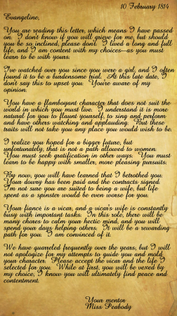 Wonderful Letter